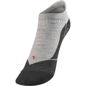Falke TK5 Calcetines de trekking invisibles Mujer, light grey
